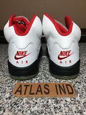 AIR JORDAN 5 RETRO Fire Red Nike V 1 3 4 11 2000 1999 OG DB Supreme Fear BIN 8.5