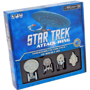 Star Trek Attack Wing: Federation Faction Pack - To Boldly Go