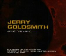 Jerry Goldsmith - 4 x CD Boxset - 40 Years Of FIlm Music - Jerry Goldsmith