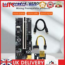 More details for ver009s plus pcie riser pci-e 1x to 16x extender adapter with 60cm usb 3.0 cable