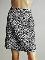 STRENESSE Damen Rock Skirt Gr.40 schwarz weiß  ##LRH448