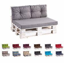 PALETTENKISSEN Palettauflagen Sitzkissen + Rückenkissen Lounge Set 120