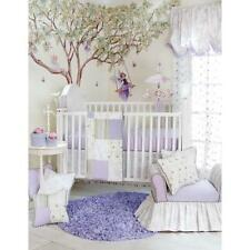Glenna Jean Penelope 3-Pc Crib Bedding Set  Lavender/ Mint Green/ White  *New*