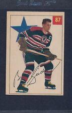 1954/55 Parkhurst #087 Bill Gadsby Blackhawks EX *70