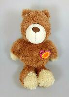 NICI Bär Teddy Philpp mit Blume ca. 30 cm Plüsch