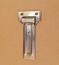 1 PORTA Locker CERNIERE 108mm IN ACCIAIO INOX TRUCK Horsebox RIMORCHIO BARCA CAMPER