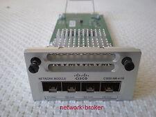 CISCO  C3850-NM-4-1G  4 x Gigabit Ethernet network  unbenutzt wie neu