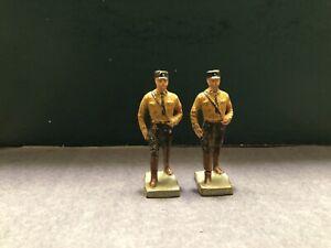 Elastolin / Lineol: German Soldiers. 7cm Scale. Pre War c1940