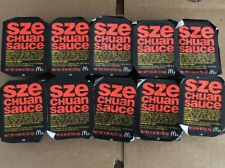 2018 Mcdonalds Szechuan Sauce Rick & Morty 10 Packs Limited Edition New &Sealed