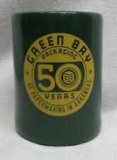 GREEN BAY PACKAGING 50 Year anniversary Arkansas Beer Bottle & Can KOOZIE Coozie