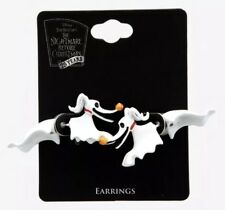 Disney The Nightmare Before Christmas Zero Faux Tunnel Earrings New With Tags!