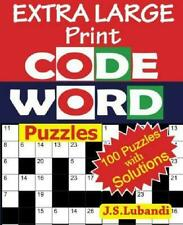 Extra Large Print Codeword Puzzles: Volume 1