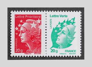 FRANCE 2012 - YT 4566/4593 PAIRE MARIANNE DE BEAUJARD - MNH