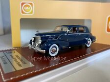 GREAT ICONIC-MODELS 1/43 CADILLAC V16 SERIES 90 TOWN SEDAN 1938 BLUE ART. GIM004