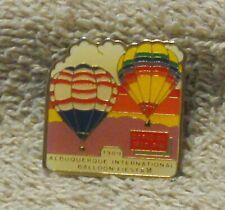 1989 OFFICIAL MAP PIN KODAK ALBUQUERQUE INTERNATIONAL BALLOON FIESTA BALLOON PIN