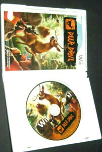 Deer Drive (Nintendo Wii Wii U) GAME COMPLETE w/MANUAL HUNTING FAST PACED ACTION