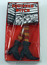 Halloween Dept Department 56 Squished Witch Stockings Boots Decoration
