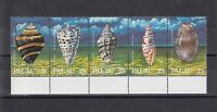 TIMBRE STAMP  5  ILE PALAU Y&T#211-15 COQUILLAGE SHELL NEUF**/MNH-MINT 1988 ~A30