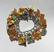 Garfield Bracelet Odie Liz Dog Cat and More Charms Adult Size