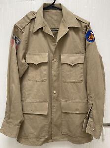 Vintage CBI ( China Burma India Theatre ) Jacket  14th Air Force Size L