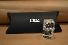 """1"""" Square Clear Dice by Libera (pair)"""