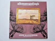 ASSER MANNENKOOR - ALLEMANSGADINGH  - LP