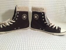 New Athletic Converse Chuck Taylor All Star Dainty X Hi Suede - Brown Sz 8 /39