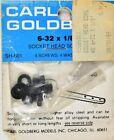 Carl Goldberg 318 6-32 x 1/8 Socket Head Screws GBG318