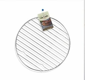 Strong Metal Wire Round Cake Baking Stan 25cm Cooler Wire Catering Cupcake
