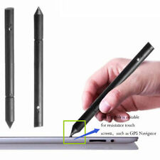 Useful Black 2in1 Plastic Stylus Touch Pen For iPhone iPad Samsung Tablet Phone