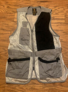 Browning shooting Vest Size Large Grey