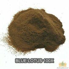 100X BLUE LOTUS 5 grams premium extract powder (Nymphaea caerulea) VERY RELAXING