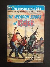 A.E. VAN VOGT ACE DOUBLE WEAPON SHOPS OF ISHER MURRAY LEINSTER CLASSIC PULP FINE