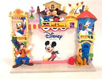 Enesco Disney Disneyland Characters Main Street Novelties Colorful Ceramic Frame