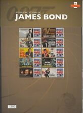2012 James Bond 50th Anniversary Limited Ed. Label Sheet. Excellent condition.