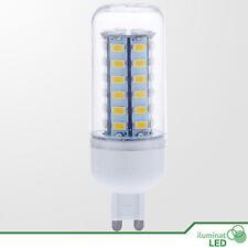 Bombilla Mazorca LED G9 (Bi Pin) 48 SMD 5730 360º Blanco Cálido 110-240V - 12W