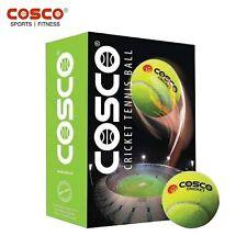 Cosco Green Light Cricket Game Heavy Tennis Ball -6Pack