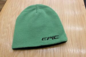 Callaway Green and Black Reversible Epic Apex Beanie Winter Knit Hat Golf beanie