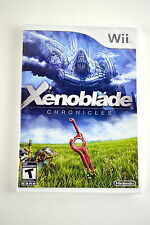 Xenoblade Chronicles (Nintendo Wii, 2012) Brand New & Factory Sealed!