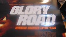 "GLORY ROAD promo MOVIE poster 40""X27"" 2 sided 2006 JOSH LUCAS"