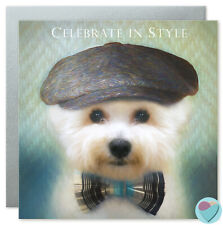 Birthday Cards Bichon Frise Dog Dad Mum Puppy Friend Girls Boys From The