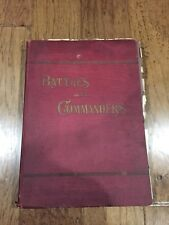 Battles and Commanders ~ Civil War Book ~ General Marcus F. Wright ~ 1907