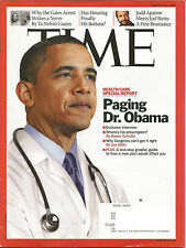 TIME Magazine (August 10, 2009) OBAMA HEALTH CARE REPORT~~~~~SEE CONTENTS INSIDE