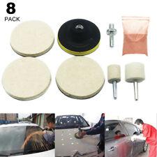 8Pcs Auto Car Windshield Window Glass Polishing Scratch Removal Repair Tool Kit