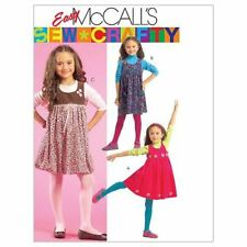 McCalls Sewing Patterns 5692 Girls Childs Jumpers Size 6-8