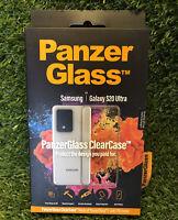 PANZER GLASS Clear Case Samsung Galaxy S20 Ultra Smartphone BNIB Sealed