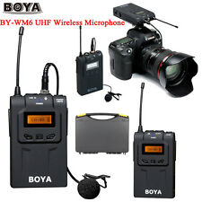 BOYA BY-WM6 UHF Wireless Microphone System for ENG EFP DSLR Cameras&Camcord D8J0