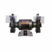 Jet 577128 Jbg 8w Shop Grinder With Grinding Wheel And Wire Wheel