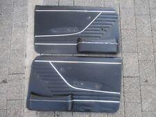 Audi 100 C1 F104 4trg. Türpappe Türverkleidung links rechts Set