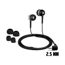 2.5mm jack Earphones  for CX 300 Black ear-canal - 1.2 m cable (Audio only)